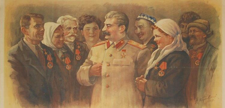 Сталин культ