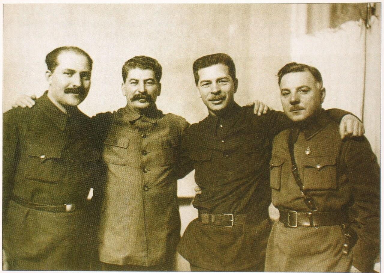 Ворошилов и Сталин