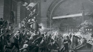 Революция Зимний дворец