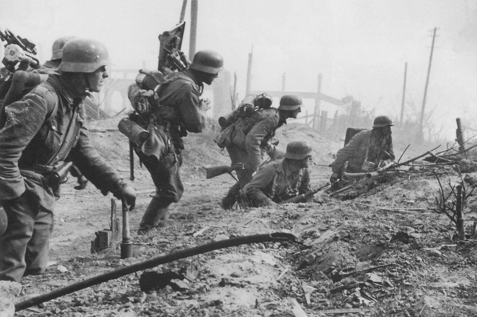 Немецкая тактика боя