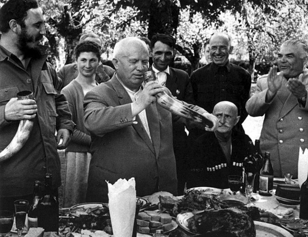 Что любил выпить Хрущев