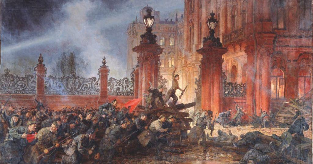 Причины революции 1917