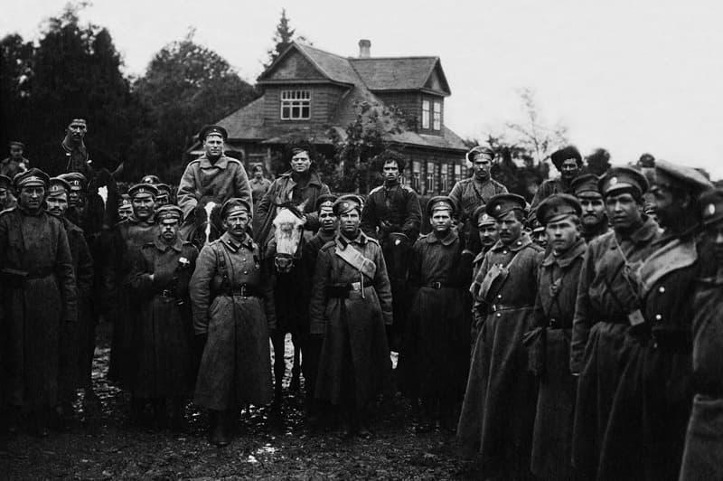 Участники гражданской войны