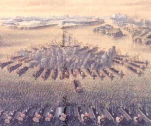Гангутское сражение.