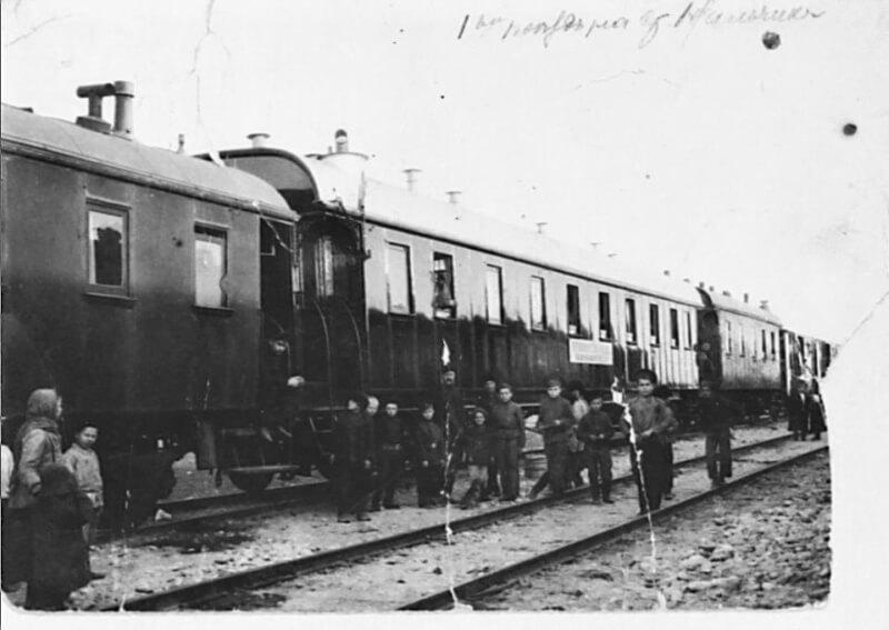 железная дорога под бомбами