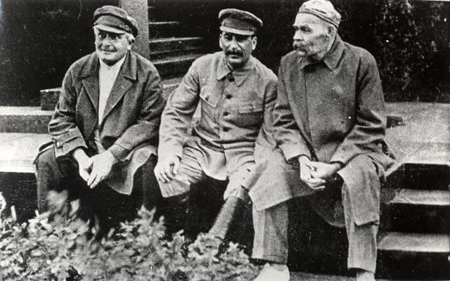 Сталин первые шаги
