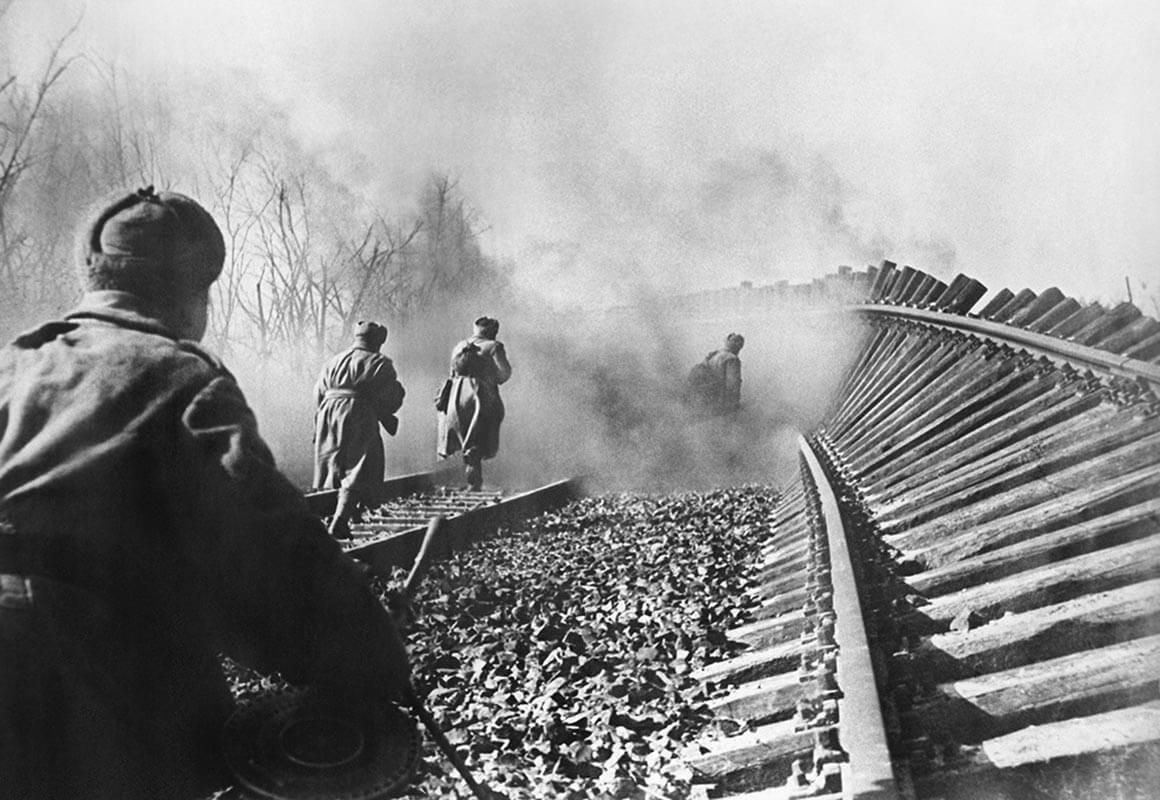 железная дорога война
