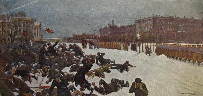 Основные события революции