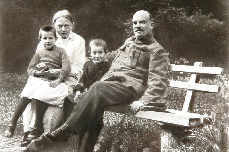 Жена Ленина