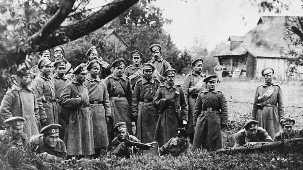 Корнилов и гражданская война