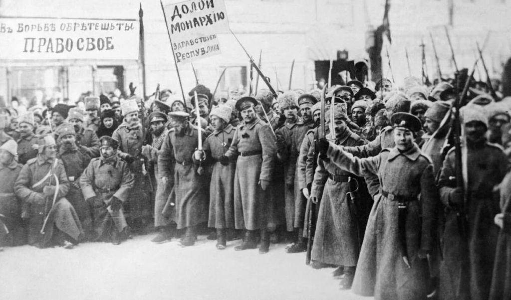 Иностранная интервенция в 1917 г